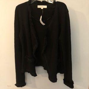 BNWT Loft Cardigan in black